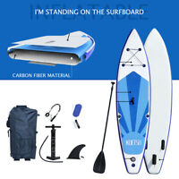 14ft Inflatable Stand Up Paddle Board SUP Surfboard w/complete kit
