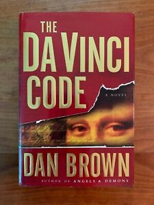 SIGNED and Inscribed Dan Brown The Da Vinci Code 1st Edition, 10th Printing