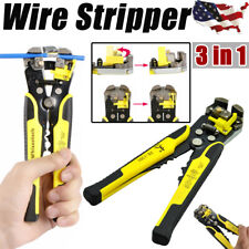 Professional Wire Stripper Cutter Crimper Plier Terminal Tool Electric Equipment