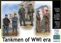 Master Box 35134 - Tankmen of WWI era War Hard Time People 1/35 scale