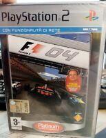 PS2 FORMULA ONE 04 NUOVO SIGILLATO ITA