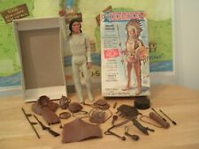 Marx Johnny West Series CHIEF CHEROKEE THE MOVABLE INDIAN + BOX+ACCESS.