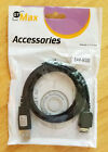 Samsung 3' USB data cable SAM-M300, GT Max Accessories brand, with driver disk