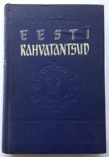 ESTONIAN FOLK DANCES, rare manual-book, Estonia 1953, lot of great pictures!