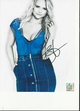Miranda Lambert/ Country Star  Sexy Denim Dress Signed Autographed 8x10 W/COA