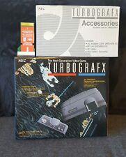 Nec turbografx 16 Console avec UK PC ENGINE Game Converter Retro Gaming