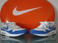 New 2009 Nike Air Max 1 One Varsity Blue Color OG 10.5 US 44.5 EUR 87 90 93 97