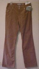 Liz Claiborne Women Sloane Beige Corduroy Pants Stretch Bootcut reg $69 NWT Sz 8