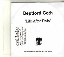 (DT704) Deptford Goth, Life After Defo - 2012 DJ CD