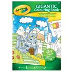 Crayola 128 A4 Page Gigantic Colouring Book Coloring Pages
