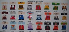 LEGO CUSTOM MINIFIG DECAL SET HE-MAN MASTERS OF THE UNIVERSE SET 1  24 FIG. LOT
