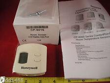Honeywell CP-6016 Room Temperature Sensor LCD Display Data Port CP-6000 Series