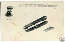 biplan caudron piloté par duval  ( 16 )