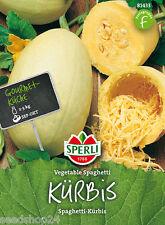 Gartenspeisekürbis Kürbis Vegetable Spaghetti Profiqualität Spaghettikürbis