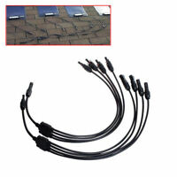 Portable New Y MC4 Solar Style Branch Panel Cable Connector Type 1 to 4 New