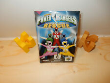 PAL N64: Power Rangers Manual Only NO GAME EN, FR, IT, ES, DE Nintendo 64