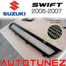New Carbon Fiber Front Grill Suzuki Swift 2005 2006 2007 Car Grille Mesh