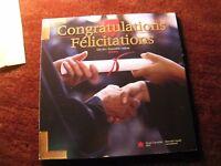 Canada 2004 Congratulation Gift Coin Rcm Set.