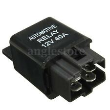 12V 40A 40 AMP Car Auto Automotive Van Boat Bike 4 Pin SPST Alarm Relay US NEW