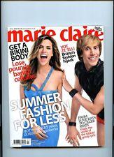 Marie Claire July 2009 - Rare Bruno Sacha Baron Cohen - Compact Magazine Fashion