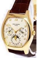 Patek Philippe Perpetual Calendar Complications 18k Yellow Gold Mens Watch 5040J