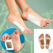 FEET FOOT DETOX PATCHES PADS NATUAL PLANT REMOVE BODY TOXINS NAILS HAIR HEALTHY