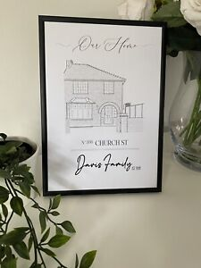 Personalised Home Drawing