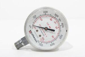 Matheson Pressure Gauge P/N: 63-3112  PSI 0-700