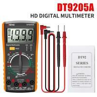 LCD Digital Multimeter Ammeter Voltmeter Ohmmeter AC DC OHM Tester DT9205A.