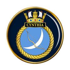 HMS Cynthia, Royal Navy Pin Badge