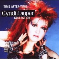 CYNDI LAUPER - TIME AFTER TIME: THE CYNDI LAUPER COLLECTION  CD POP BEST OF NEW