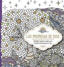 Las promesas de Dios: Libro de colorear para adultos. Coloree mientras medita en