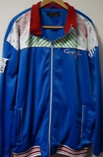 Men's COOGI AUSTRALIA Embroidered Track Style Jacket Size 4XL Blue