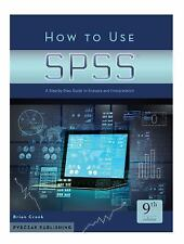How to Uses SPSS-9th Ed : A Step-By-Step Guide to Analysis and Interpretation...