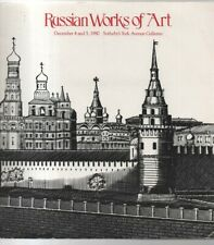 Russian Works Of Art: Sotheby's Auction catalogue 4/5 Dec 1980