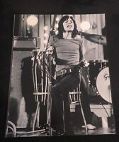 MICK JAGGER SIGNED 8X10 PHOTO THE ROLLING STONES W/COA+PROOF RARE WOW