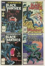 Black Panther (1988) 1 2 3 4 Complete Run Set Lot