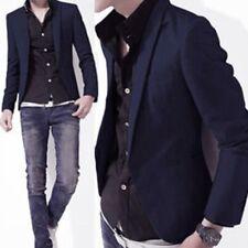 Casual Suit Blazer (Navy) Men's Jacket