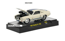 TF7 L145 82161 18 M2 MACHINES GROUND POUNDERS 1967 SHELBY G.T 500 WHITE  mustang