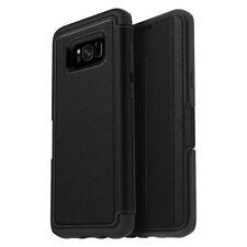 Genuine Otterbox Strada Leather Folio/Wallet Case for Samsung Galaxy S8+ Black