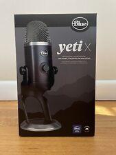 Blue Microphones - Blue Yeti X Professional Condenser USB Microphone