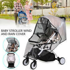 Weather Shield Universal Rain Cover for Pushchair Stroller Baby Buggy Pram AU