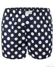 Woven Boxers Blue Big Dot Mans (Happy Socks) Black/White One Pair Size 8 1287