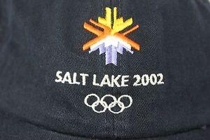 Salt Lake 2002 Olympics Vintage Adjustable Hat Cap