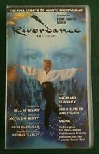 Riverdance The Show VHS Video Cassette - Michael Flatley Jean Butler Maria Pages