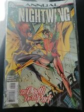 D.C Nightwing Annual #2 Cgc 9.6 White Pages 2007
