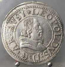 Groschen (3 Kreuzer) o.J., Hall, EH Leopold, 1619-1632, Silber