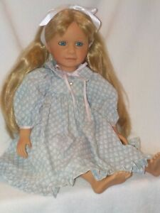 """20"""" Beautifully Made Porcelain Doll By Doll Artist Pamala Erff 1999"""