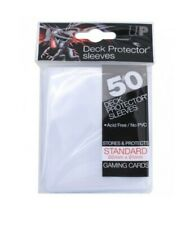 Ultra Pro 50 pochettes Deck Protector Sleeves Transparent clear standard 826673