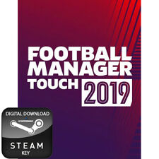 FOOTBALL MANAGER 2019 TOUCH PC AND MAC STEAM KEY